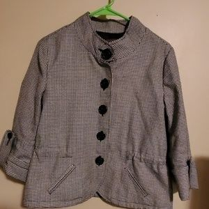 Chadwick houndstooth jacket